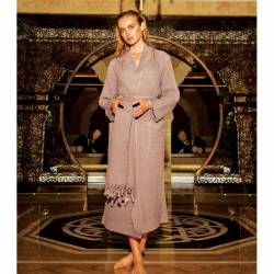 Buldan Fabric Linen Bathrope