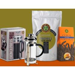 Filter Coffee With Hazelnut Chocolate With Orange Bar, Pleasure Package