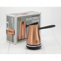 Electric Copper Coffee Pot