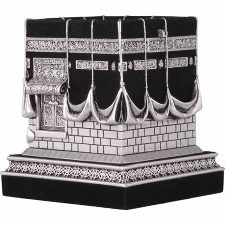 Decorative Kaaba miniature figurines Silver