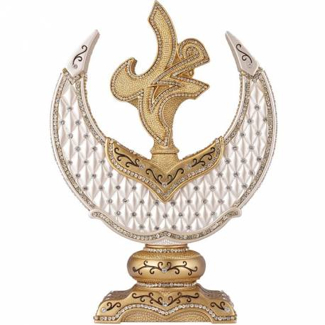 Name of Nebi Decorative Crescent Trinket Gold