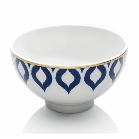 Drops in blue bowls 13 cm