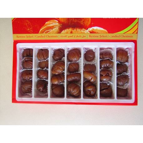 Oversized plain Candied Chestnut Boxed