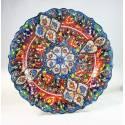 Kutahya Handmade Pottery Plate 30 Cm