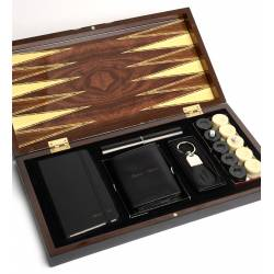 Customisable Premium Backgammon Set
