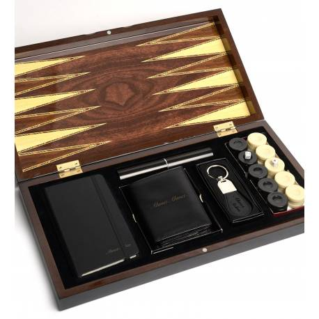 Customisable Premium Backgammon Set