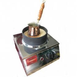 Mizan Coffee in Sand Machine