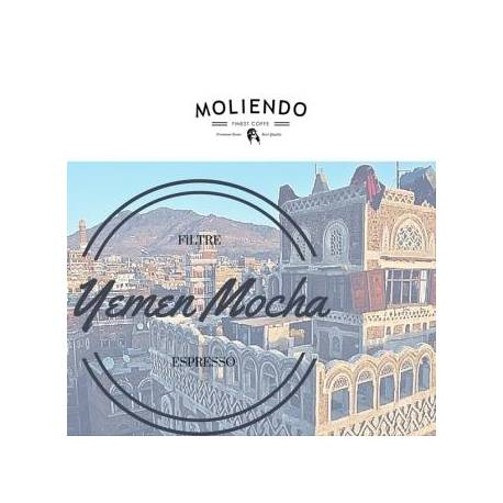 Moliendo Yemen Mocha Regional Coffee