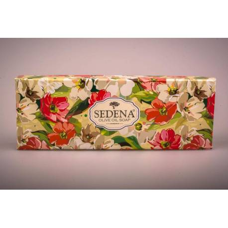 Traditional Olive Oil Soap Three-Pack Gift Set - Gardenia