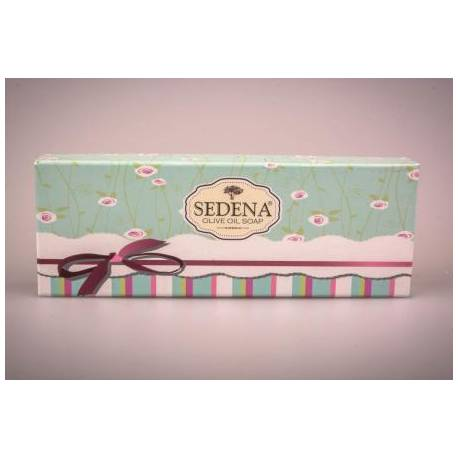 Traditional Olive Oil Soap Three-Pack Gift Set - North Aegean