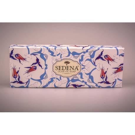 Traditional Olive Oil Soap Three-Pack Gift Set - Turkish bath