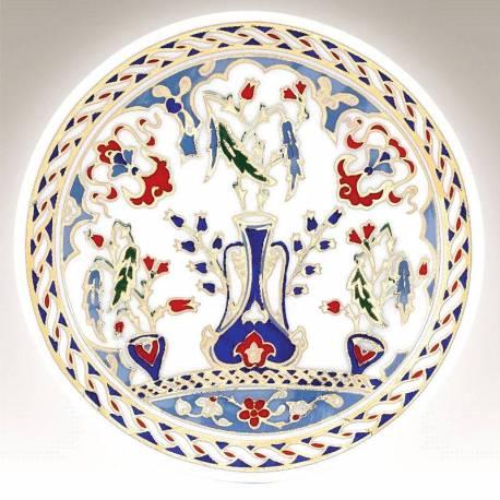 Kutahya Porcelain Hand Made 10 cm Plate no3