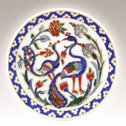 Kutahya Porcelain Hand Made 10 cm Plate no5