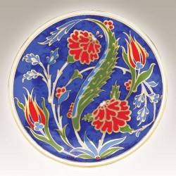 Kutahya Porcelain Hand Made 10 cm Plate no7
