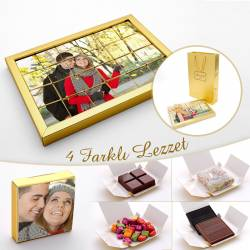 Customizable photo puzzle with 4 different flavor