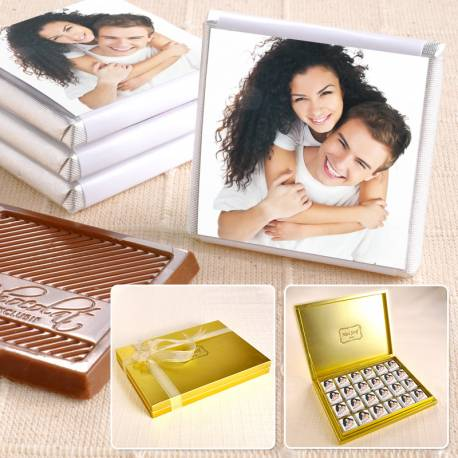 Customizable Photo Madlen Chocolate