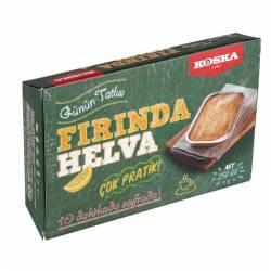 Halva in the oven