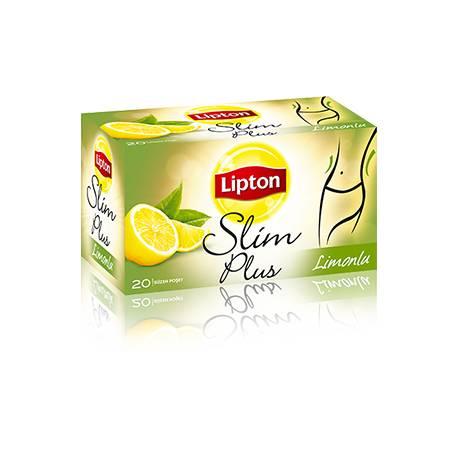 Lipton Slim Plus Weight Loss Tea with Lemon