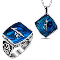 Captain of the Sea - Ocean pearl 925 silver ornamented Model Rings