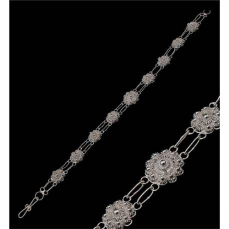Mardin Handmade Telkari Filigree Silver Bracelets