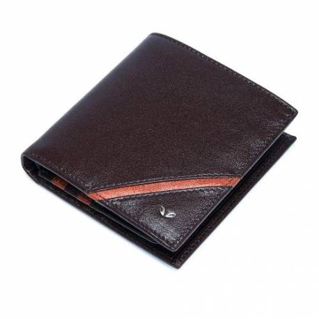 Brown Taba Leather Men's Wallet