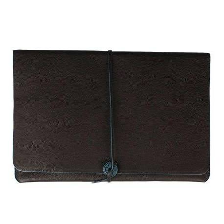 Leather MacBook Case - Black