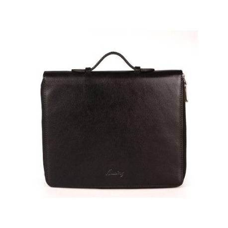 New Generation Leather Organizer-Tablet Length Black