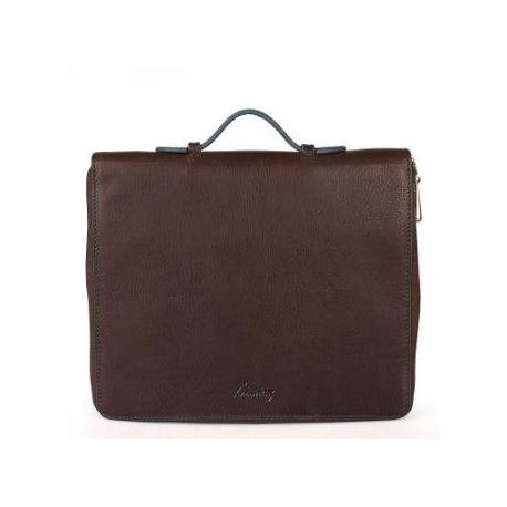 New Generation Leather Organizer-Tablet Length Brown