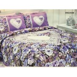 Ozdilek Mother's Day Special Double Linens Sets Redbud