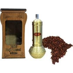 Super Plump coffee grinder + wooden Box