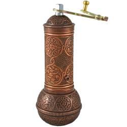 Ottoman motifs Copper spice coffee grinder