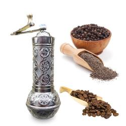 Zamak long Chubby spice coffee grinder