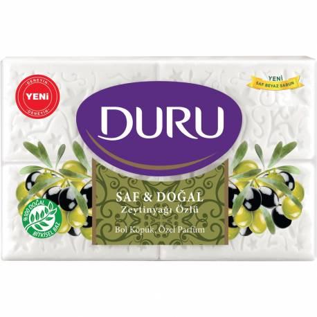 Duru Pure & Natural Olive Oil Bar Soap 600g