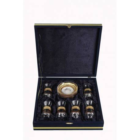 Golden Gilded Tea Glass (in Special Box)