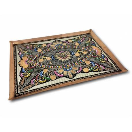 Handmade Copper Square Tray