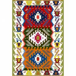 Turkish Traditional Chenille Rugs Bilecik