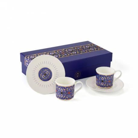Turkish coffee cup Altinçag 2 pieces set