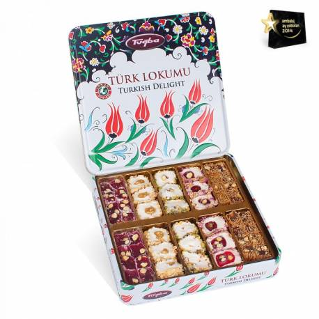 Turkish Motif Special Boxed Turkish Delight