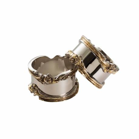 Jumbo Gold Napkin Ring