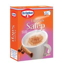 Salep Sahlab Salepi Sahlep Instant Mix by Dr. Oetker