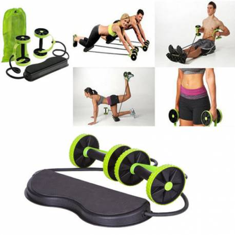 Revoflex Wheeled Exercise Fitness Tool Tire Abdominal Muscle Belly Melting