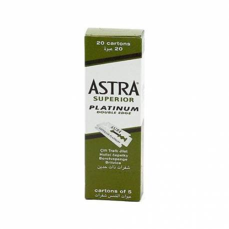 Astra Platinum Double Edge Safety Razor Blades 100 pieces