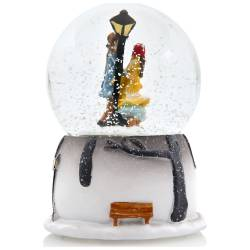 Winter Tale Snow Globe Automatic Sprayed Music Light Box