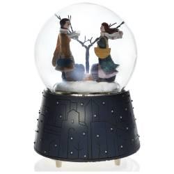 Winter Tale Lighted Music Snow Motorized Snow Globe