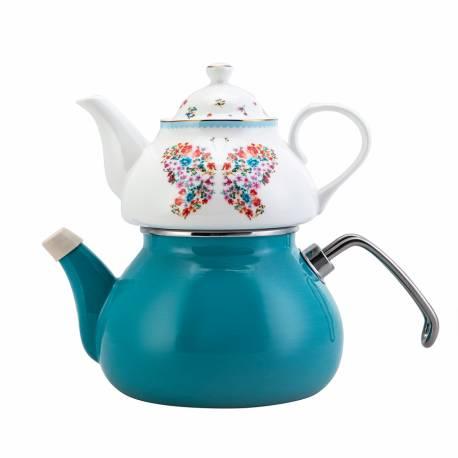 Karaca Fiora Porcelain Teapot Set