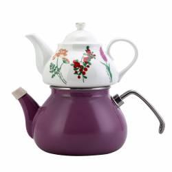 Karaca Iris Porcelain Teapot Set