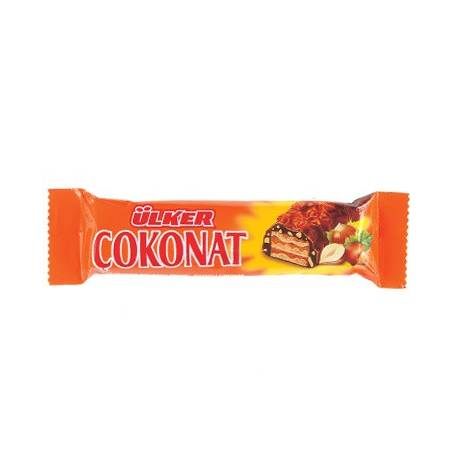 Cokonat Chocolate Coated Wafer Bar with Hazelnut