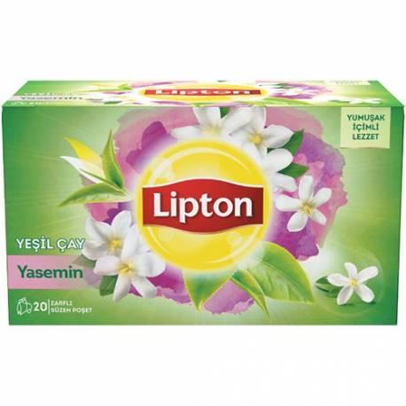 Lipton Cup Bags Green Tea with Jasmine