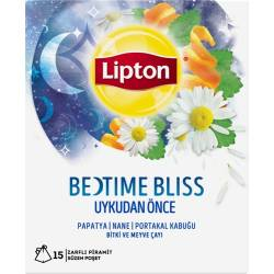 Lipton Bedtime Bliss - Herbal And Fruit Tea Before Sleep