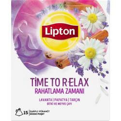 Lipton Time To Relax - Herbal And Fruit Tea